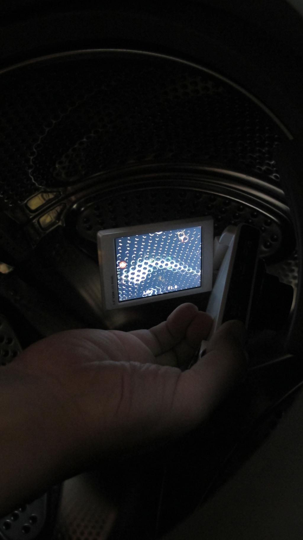 G1实拍图 - 滚筒洗衣机内壁